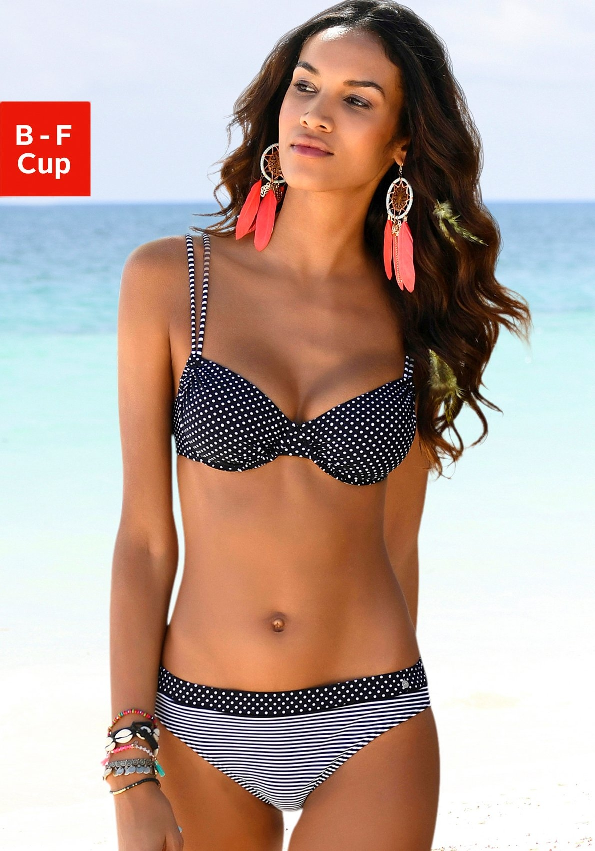 s.Oliver RED LABEL Beachwear top met beugels online kopen op lascana.nl