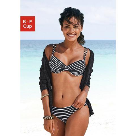 s.Oliver RED LABEL Beachwear bikinitop met beugels HILL met dubbele bandjes