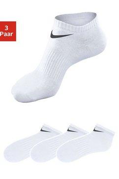 nike sneakersokken met middenvoetelastiek (3 paar) wit