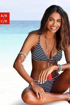 s.oliver beachwear bikinitop in triangelmodel »hill« zwart