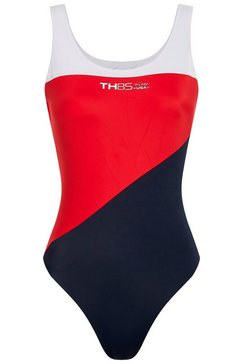 tommy hilfiger badpak in sportief design rood