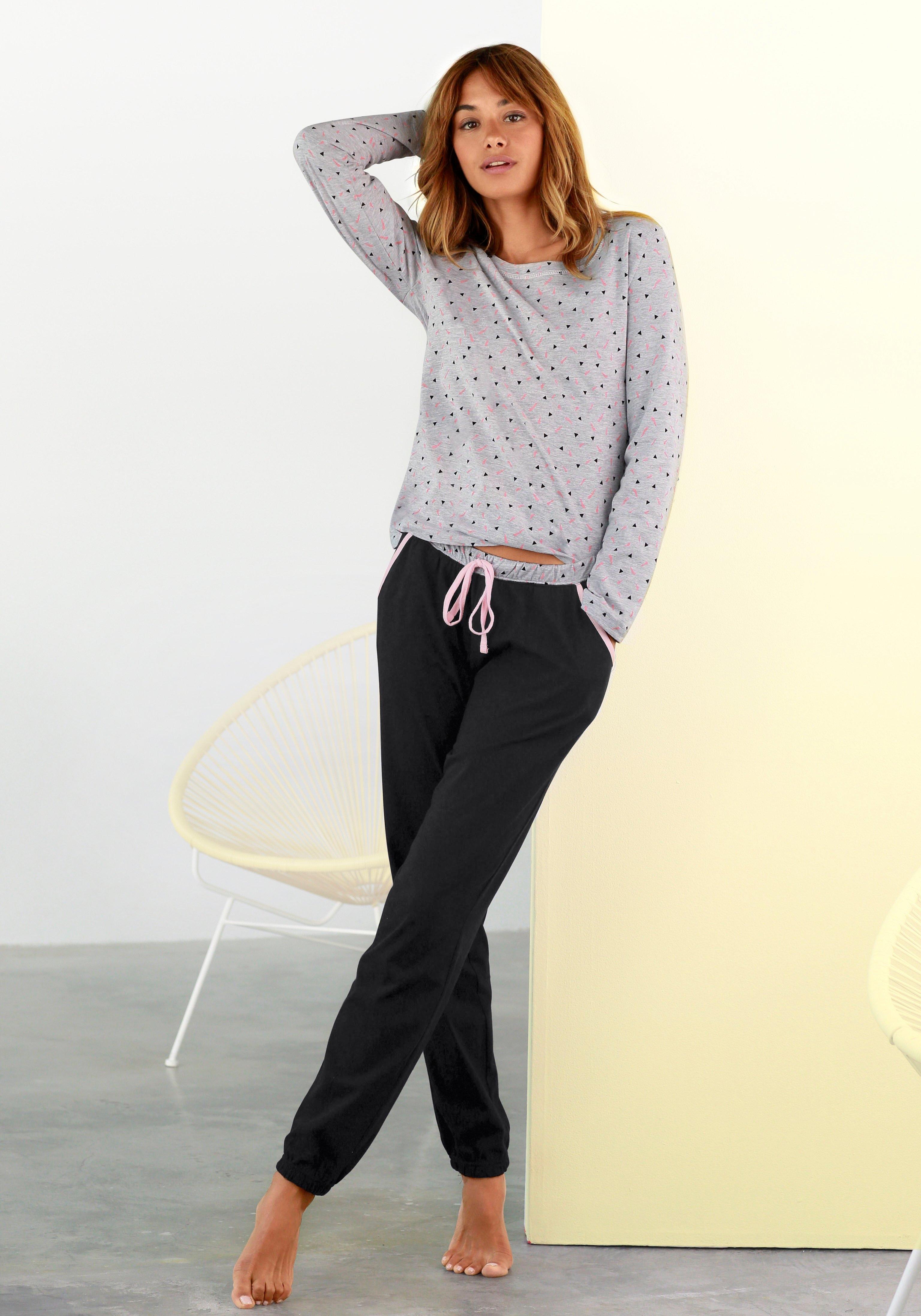 vivance collection pyjama in de webshop van Lascana kopen