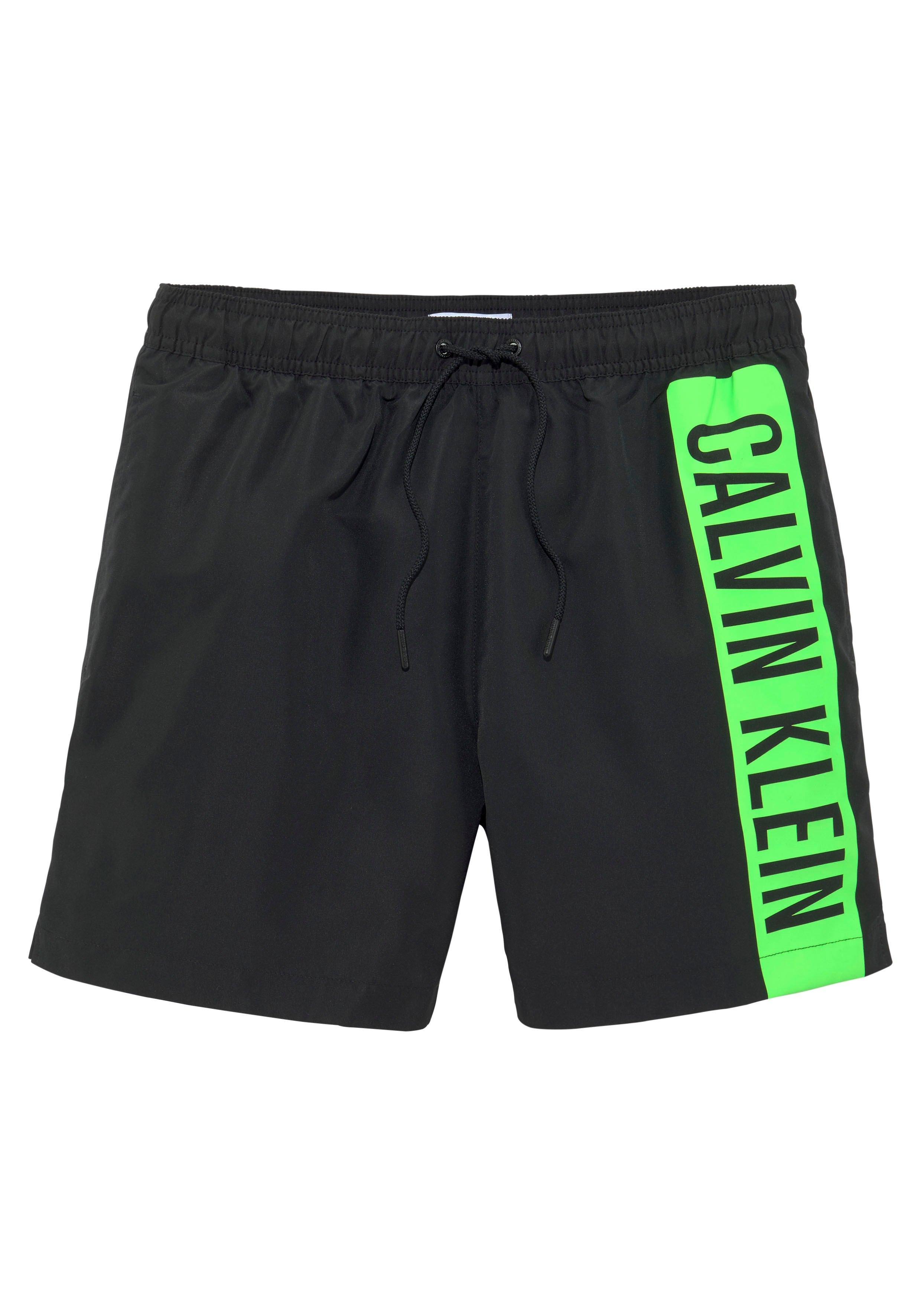 Calvin Klein zwemshort met trendy logoprint - gratis ruilen op lascana.nl