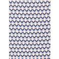 vivance t-shirt met een cut-out en fijne plooi in de nek (set van 2) paars