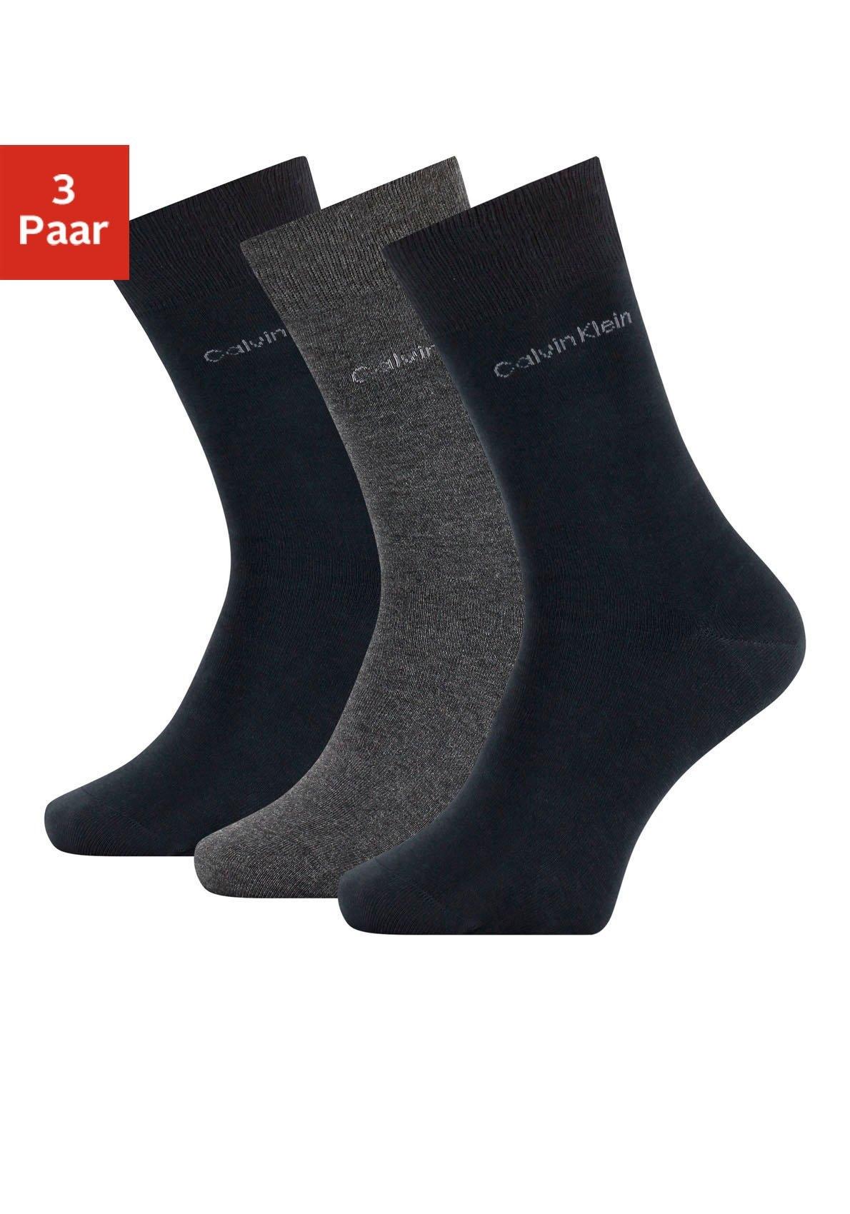 Calvin Klein sokken voor werk en vrije tijd (3 paar) nu online kopen bij Lascana