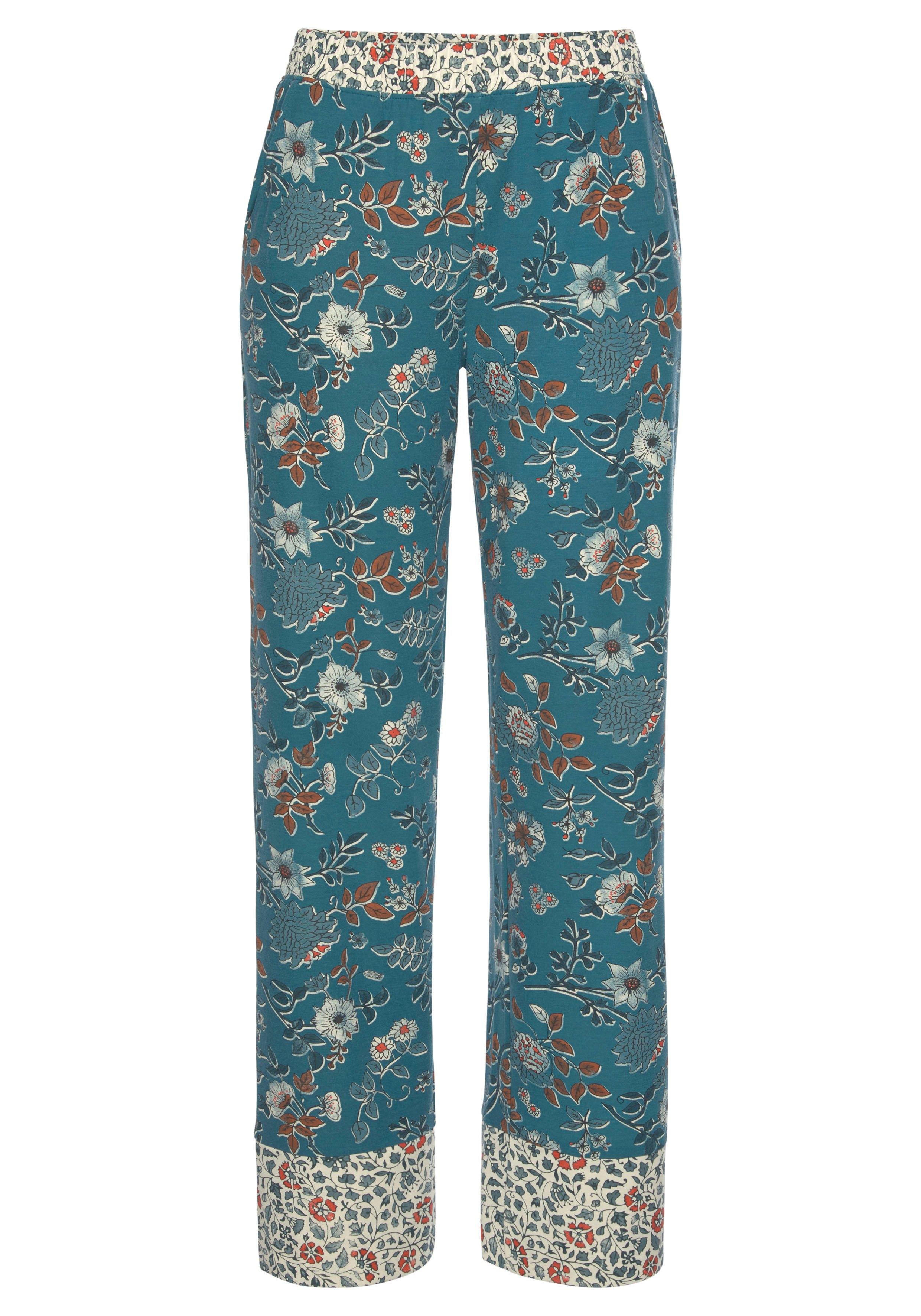 Op zoek naar een Lascana pyjamabroek in bloemen print all-over? Koop online bij Lascana