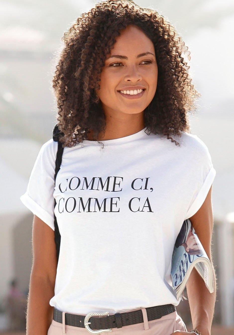 Buffalo T-shirt met print goedkoop op lascana.nl kopen