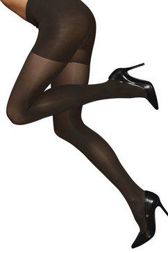 lascana bodyforming-panty opaque zwart