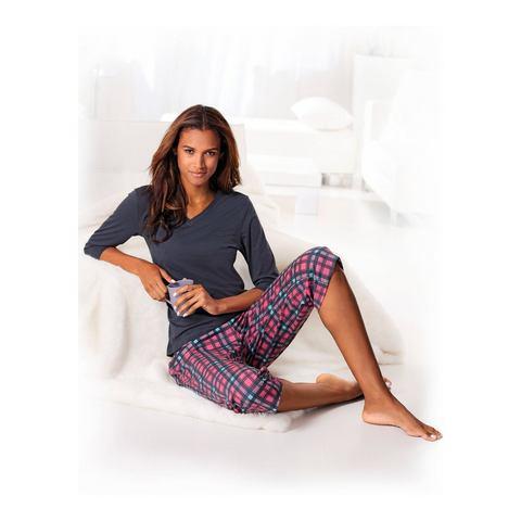 H.I.S Capri-pyjama met 3-4-mouwen