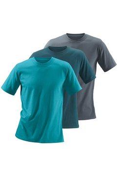 shirt met ronde hals (set van 3), katoen »cotton made in africa« multicolor