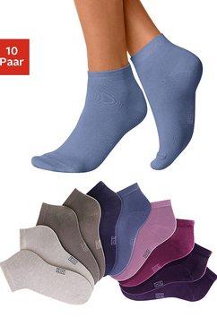 h.i.s korte sokken (10 paar) multicolor