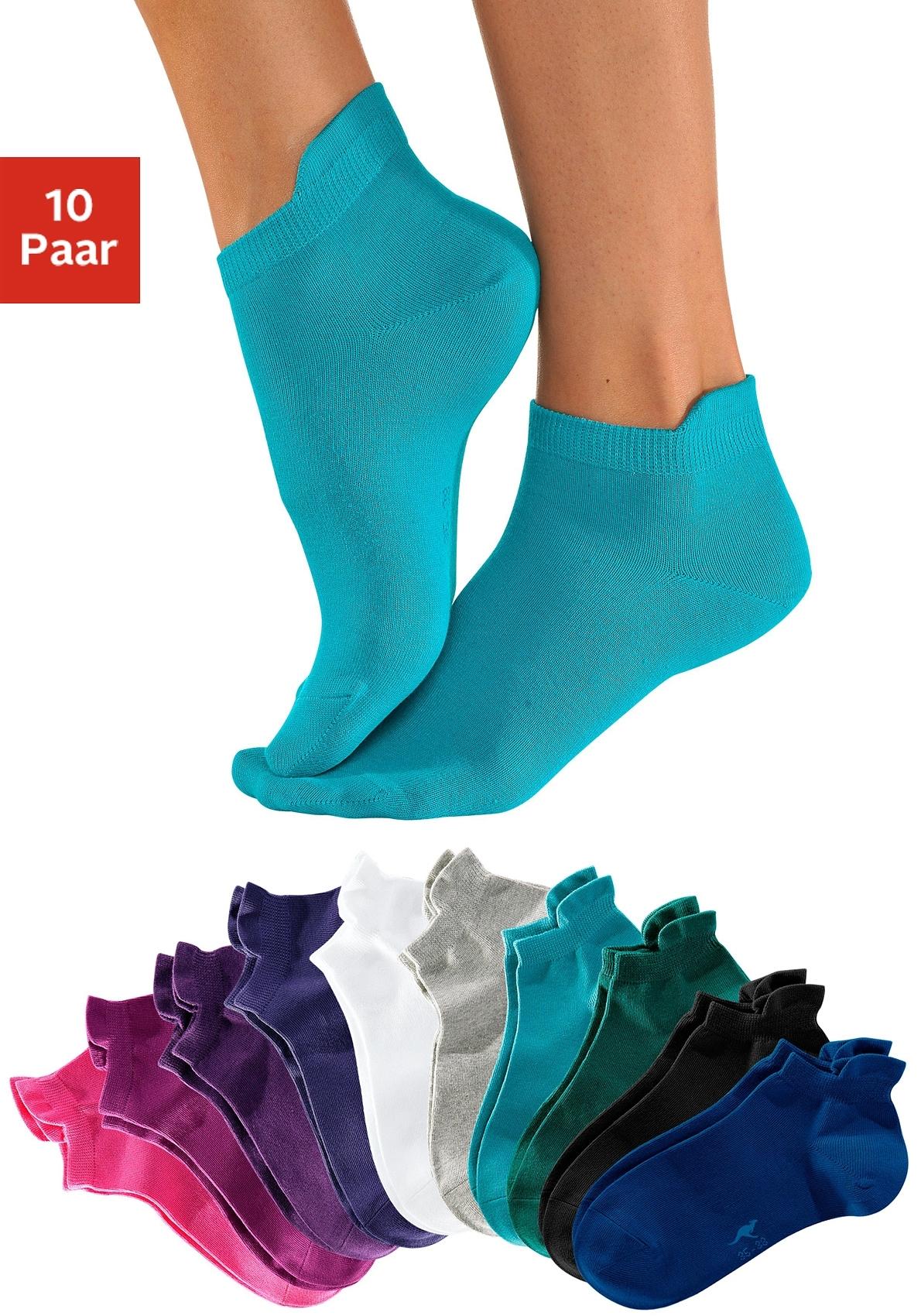 KangaROOS Sneakersokken met verhoogde boord (10 paar) bij Lascana online kopen