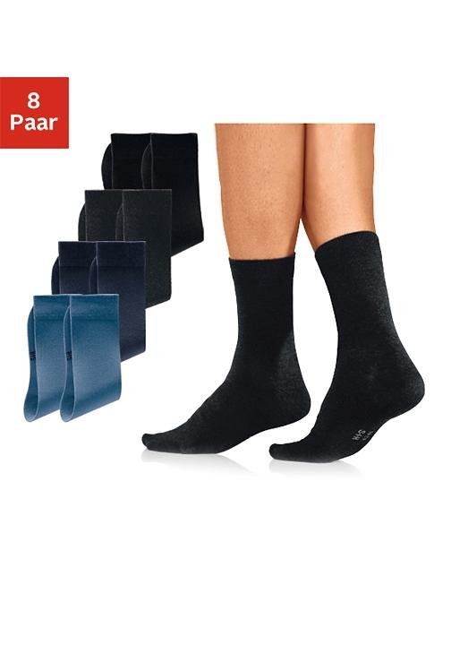 Op zoek naar een H.I.S basic sokken met een hoog katoengehalte (8 paar)? Koop online bij Lascana