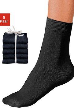 sokken, set van 10 paar zwart