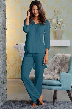 lascana pyjama groen