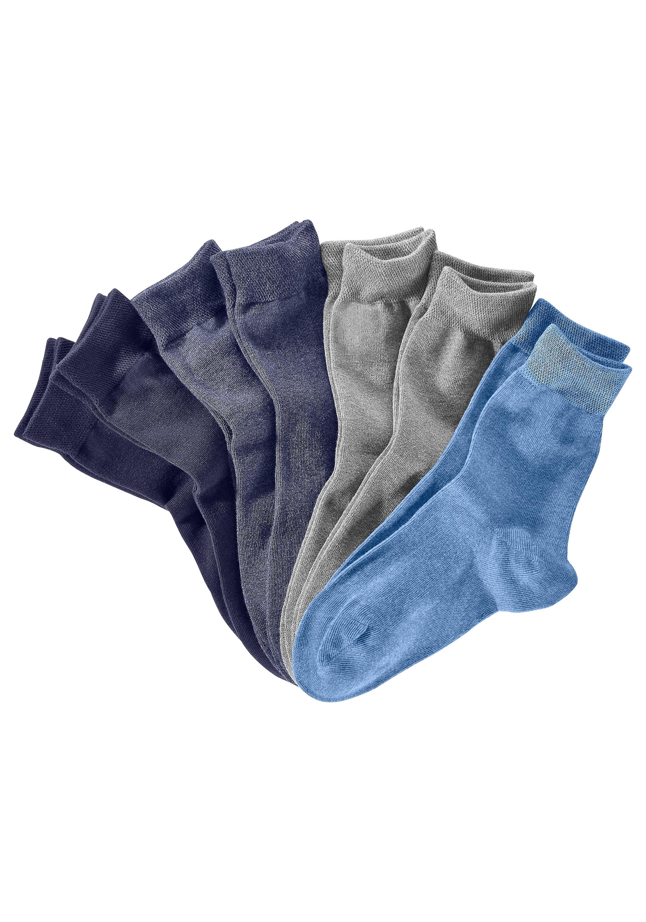 S.oliver Bodywear s.Oliver RED LABEL Bodywear vrijetijds- en businesssokken (set van 7 paar) in een blik goedkoop op lascana.nl kopen