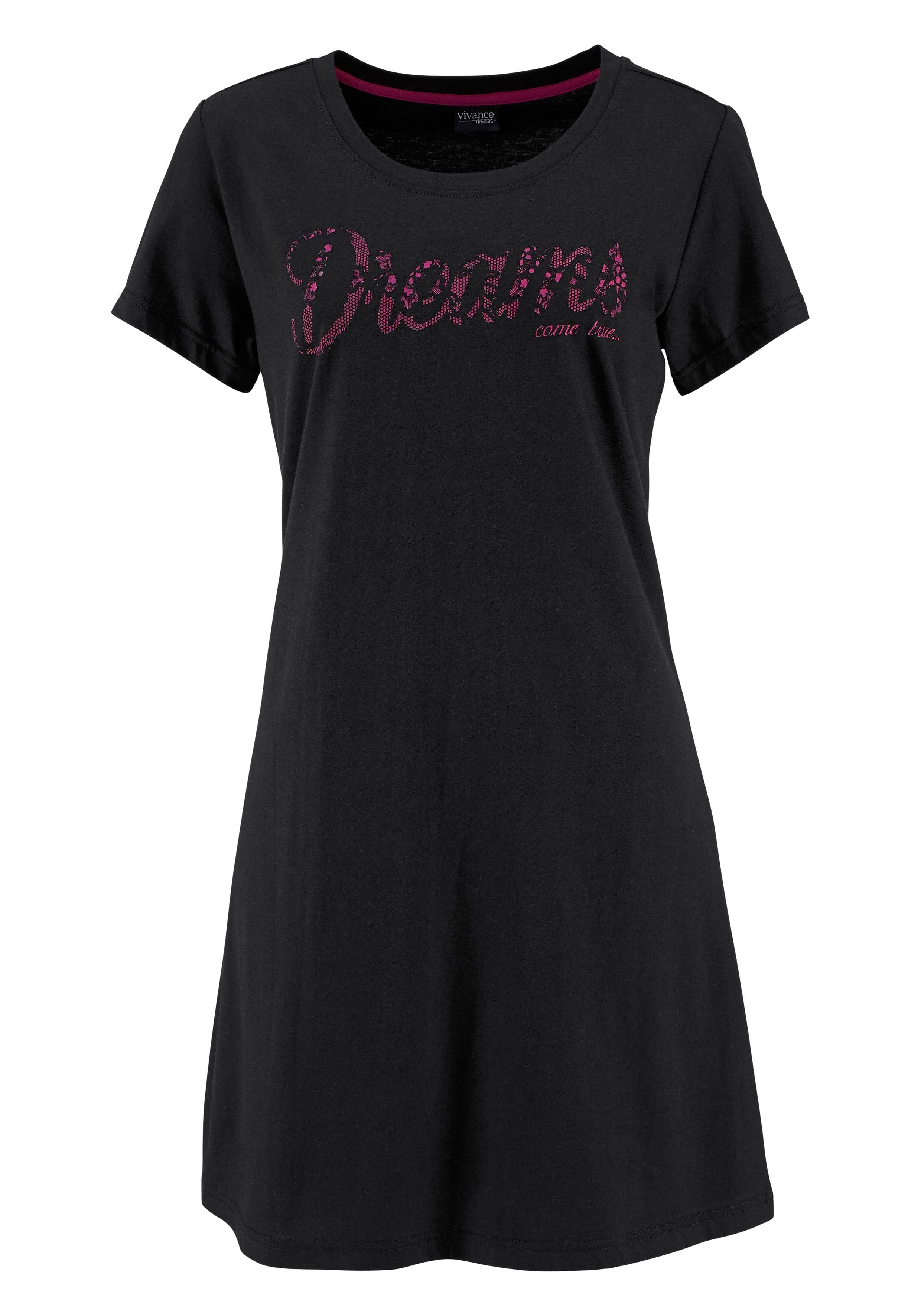 vivance collection Nachthemd met ronde hals bij Lascana online kopen