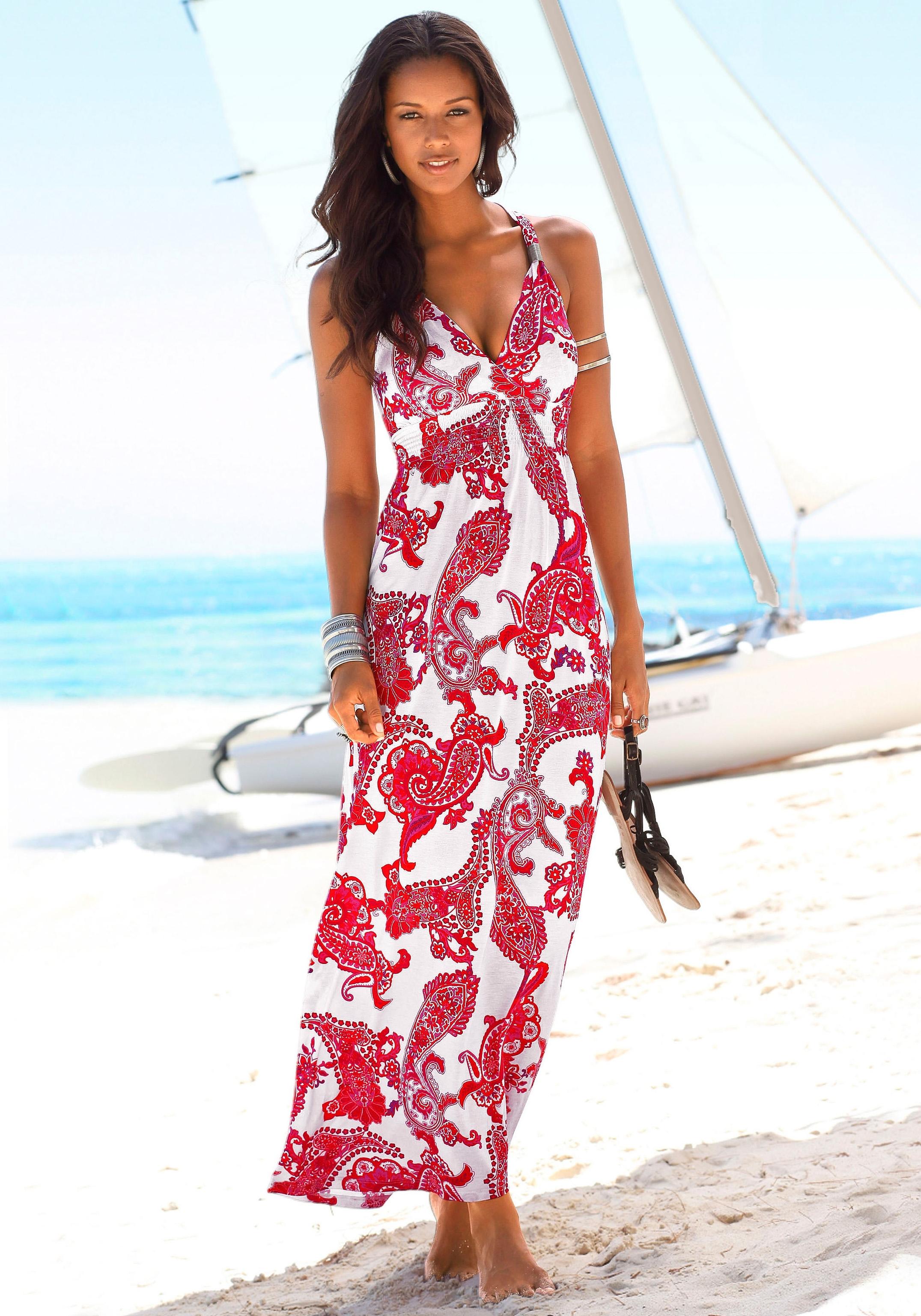 Op zoek naar een Lascana Maxi-jurk met verstelbare hals? Koop online bij Lascana