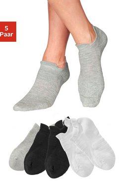 lascana active sneakersokken zwart