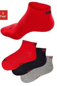 Korte sokken, set van 3 paar
