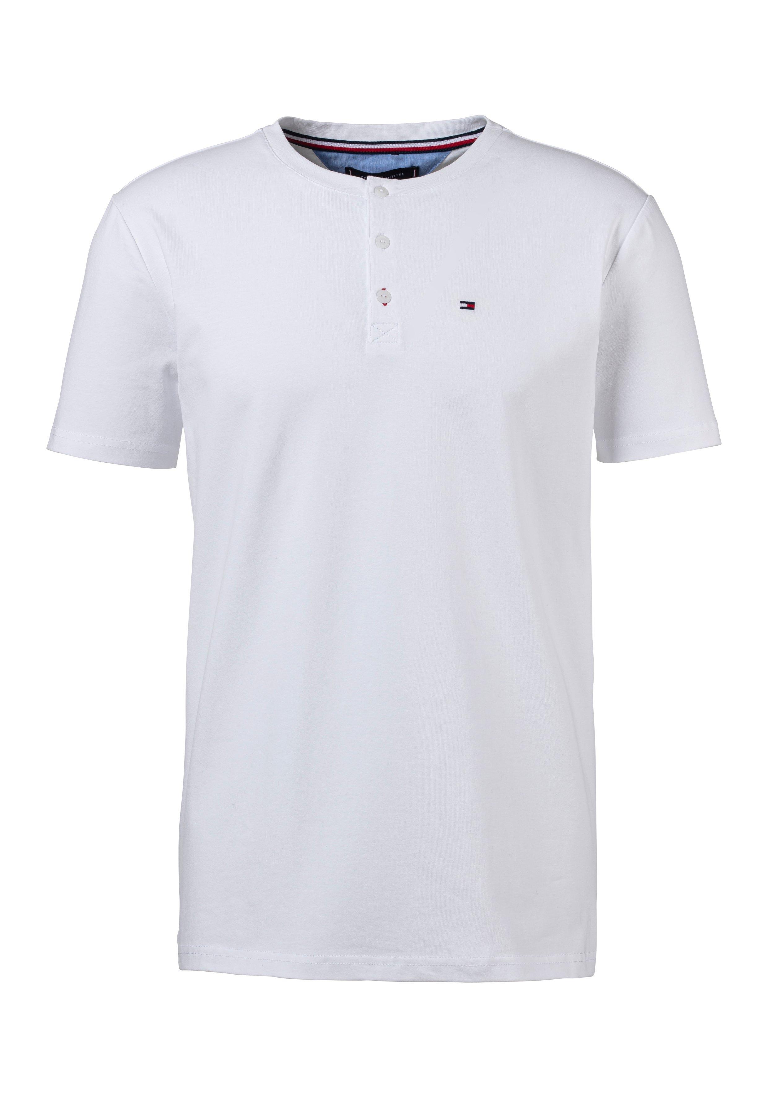 Tommy Hilfiger T-shirt »mit Knopfleiste« bij Lascana online kopen