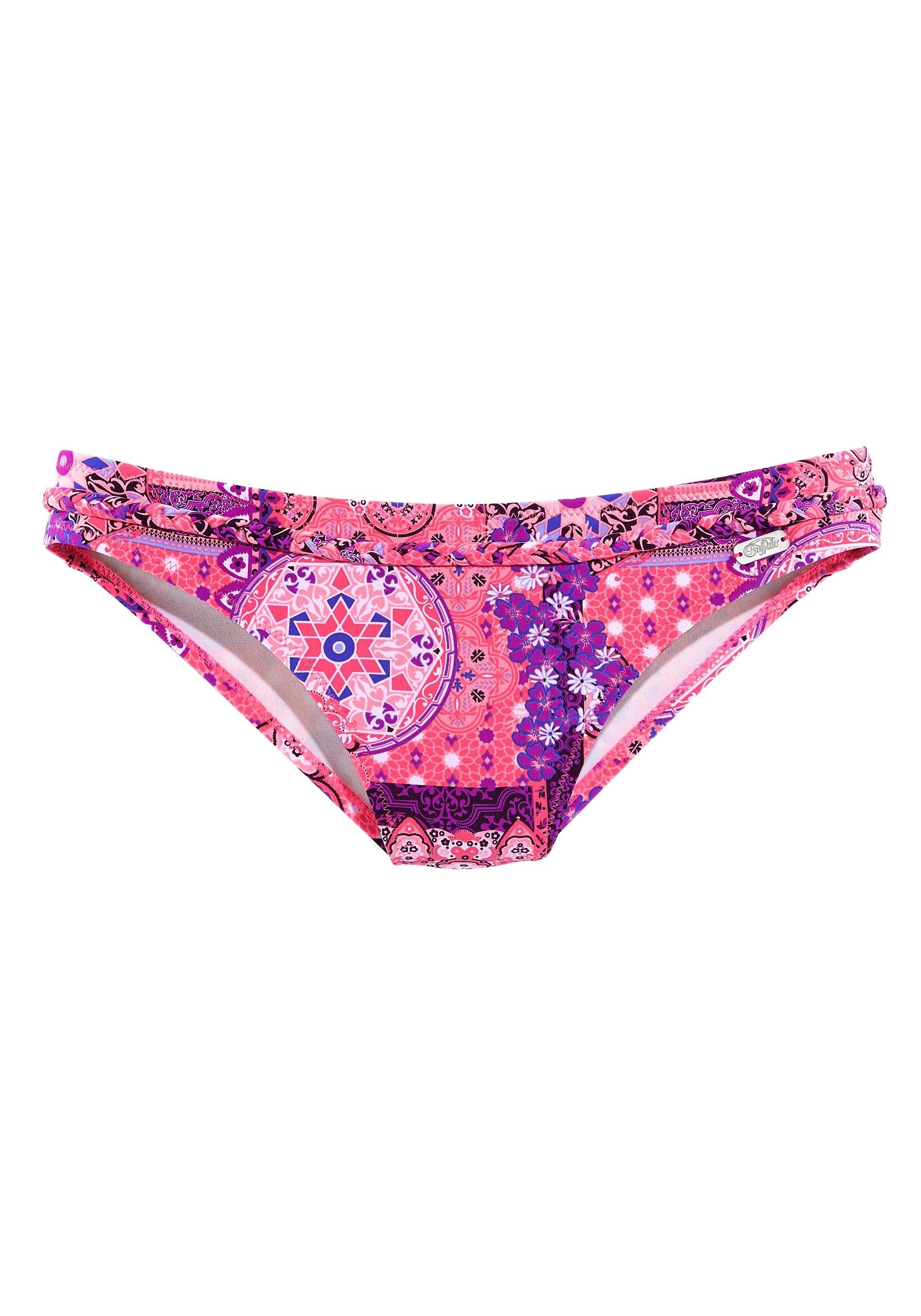 Buffalo bikinibroekje Shari met gevlochten sierriem in de webshop van Lascana kopen