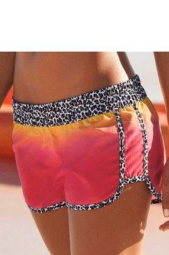 Zwemshort in batik-look