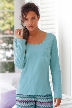 petite fleur shirt met lange mouwen 'paradise' groen