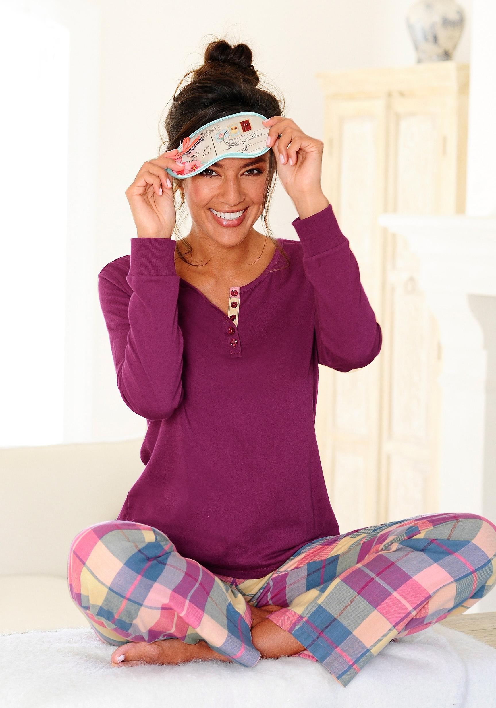 H.I.S Pyjama in flanelkwaliteit nu online bestellen