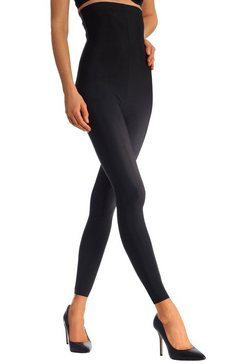 lascana high-waisted bodyforming-legging zwart