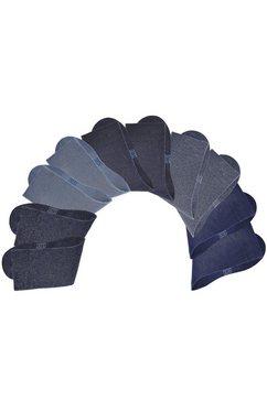 uniseks-sokken, set van 10 paar, h.i.s multicolor