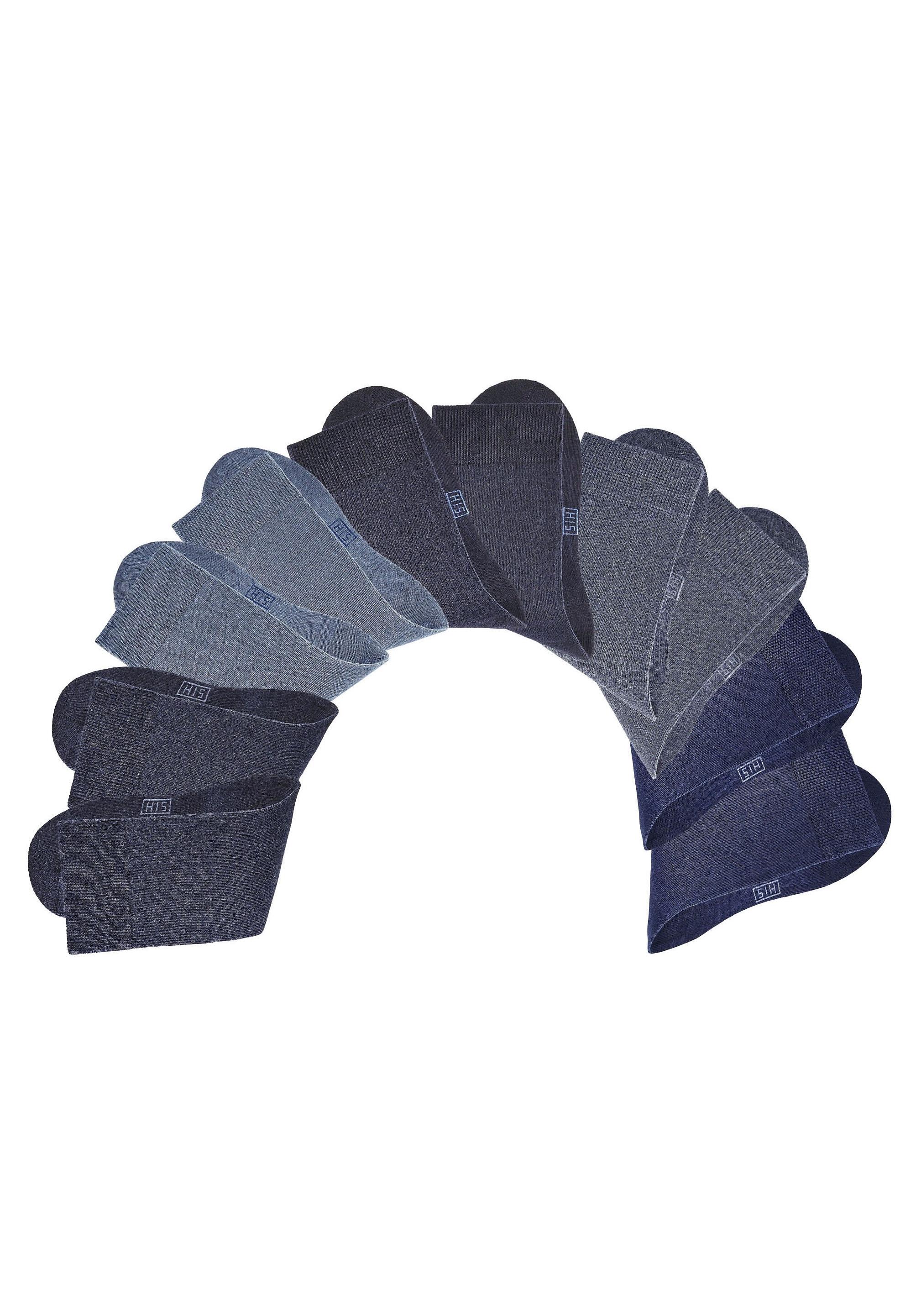H.I.S Uniseks-sokken, set van 10 paar online kopen op lascana.nl