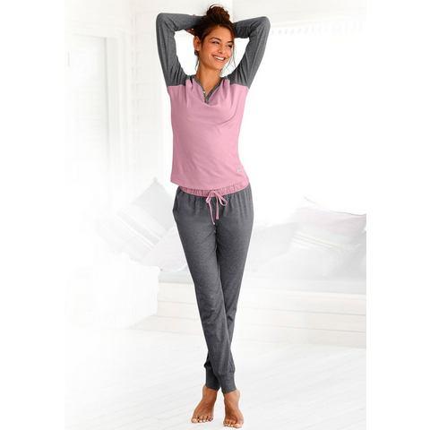 BUFFALO Pyjama met schelpknopen