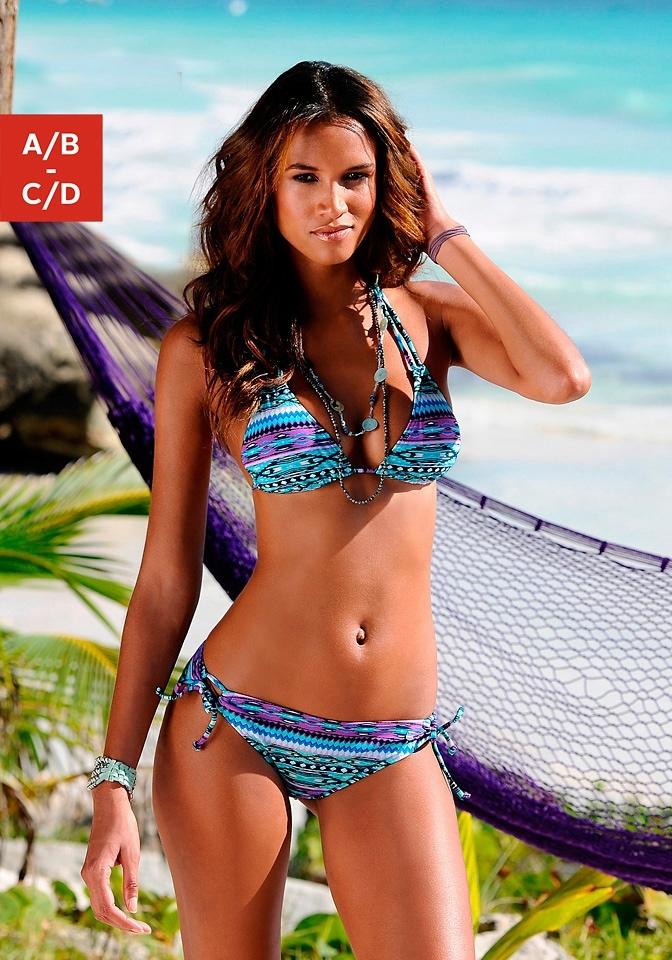 s.Oliver Beachwear S.OLIVER Triangelbikini met uitneembare vullingen (2-delig) nu online kopen bij Lascana