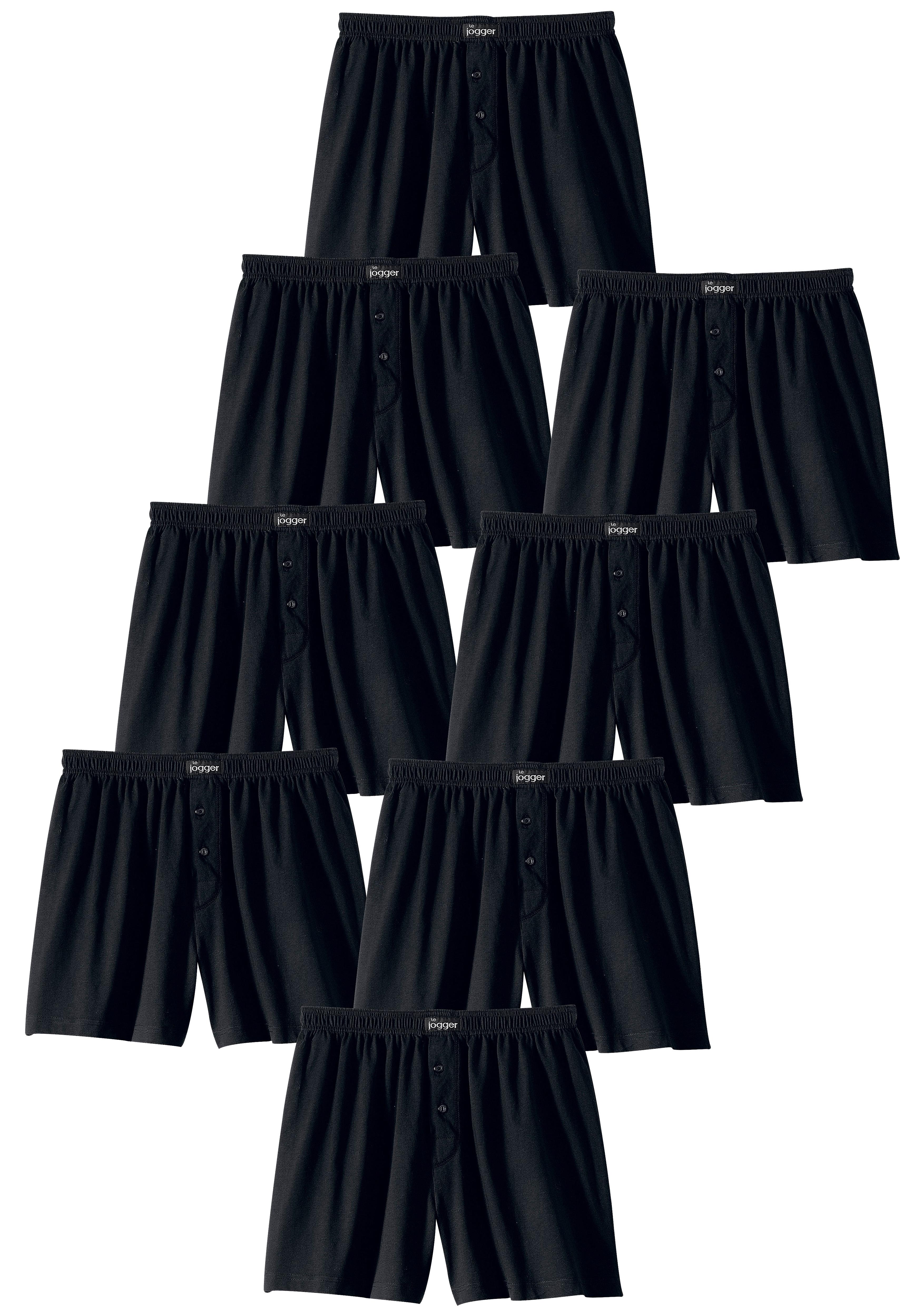 Op zoek naar een le jogger wijde boxershort in prettig zachte katoenkwaliteit (8 stuks)? Koop online bij Lascana