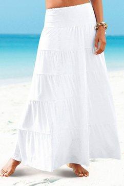 beachtime lange strandrok wit