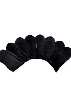 h.i.s sokken (set van 8 paar) in jeanstinten in cadeauverpakking zwart