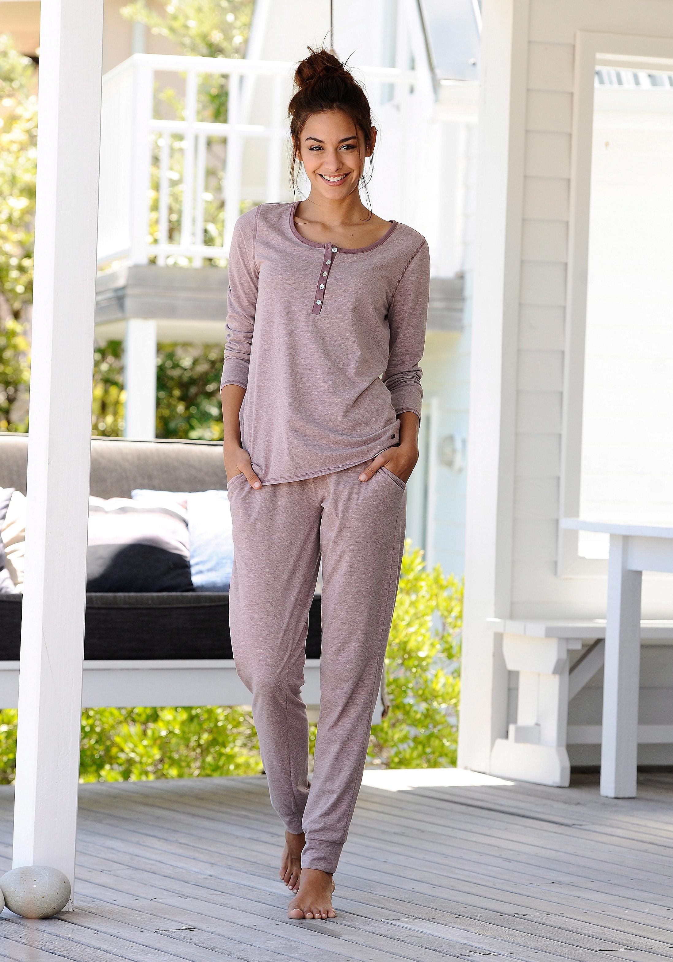Op zoek naar een ARIZONA Pyjama in mêlee-look? Koop online bij Lascana