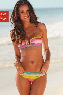 S.OLIVER Bandeau-bikini met uitneembare vullingen (2-delig)