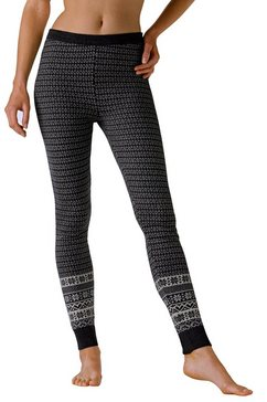 Tricot-legging met Noors motief