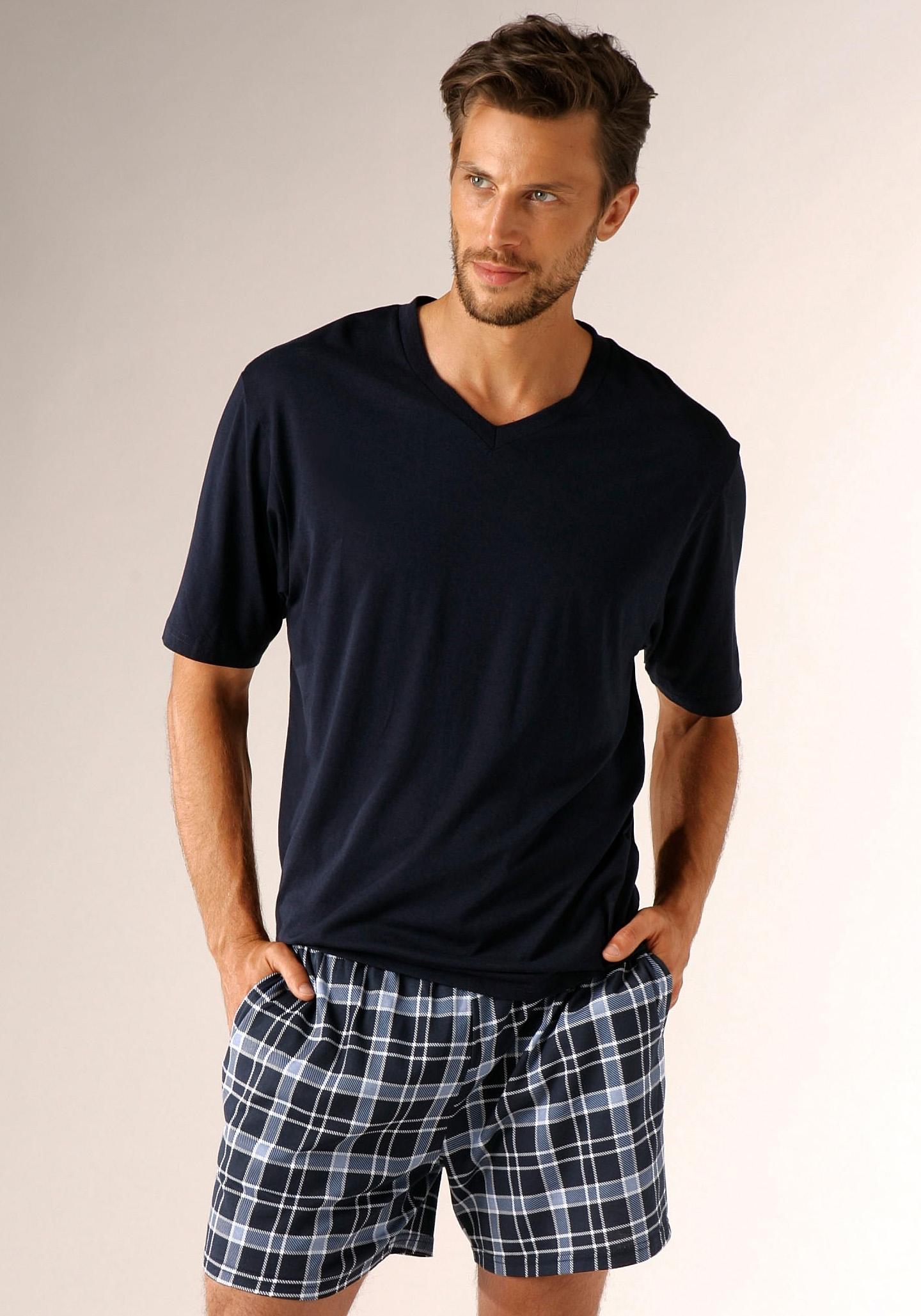 s.Oliver RED LABEL Beachwear shortama met steekzakken opzij - gratis ruilen op lascana.nl