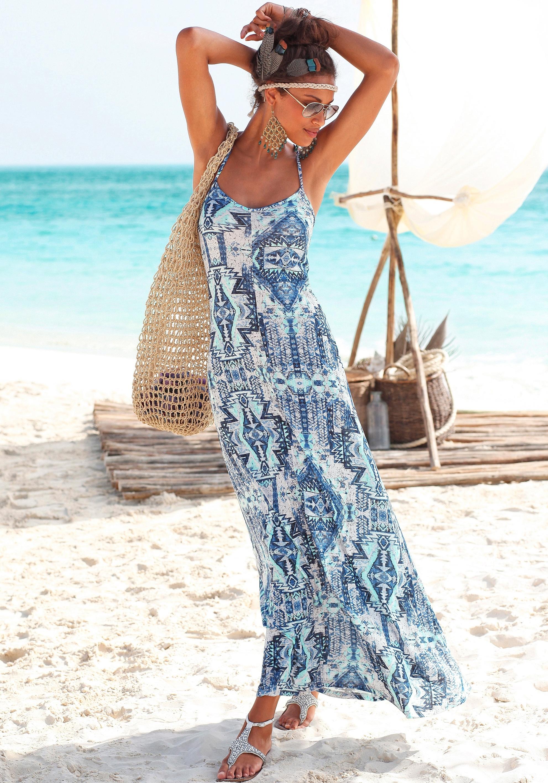 Buffalo London Maxi-jurk met Azteken-motief online kopen op lascana.nl