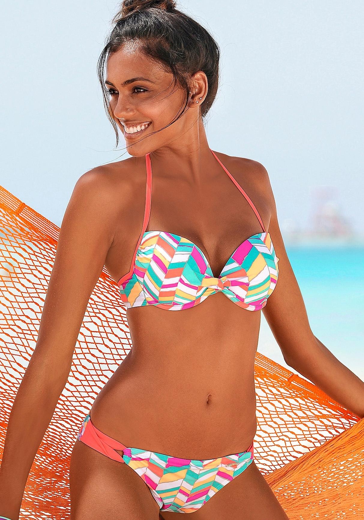 Buffalo Push-up-bikini met ingewerkte versteviging (2-delig) nu online kopen bij Lascana