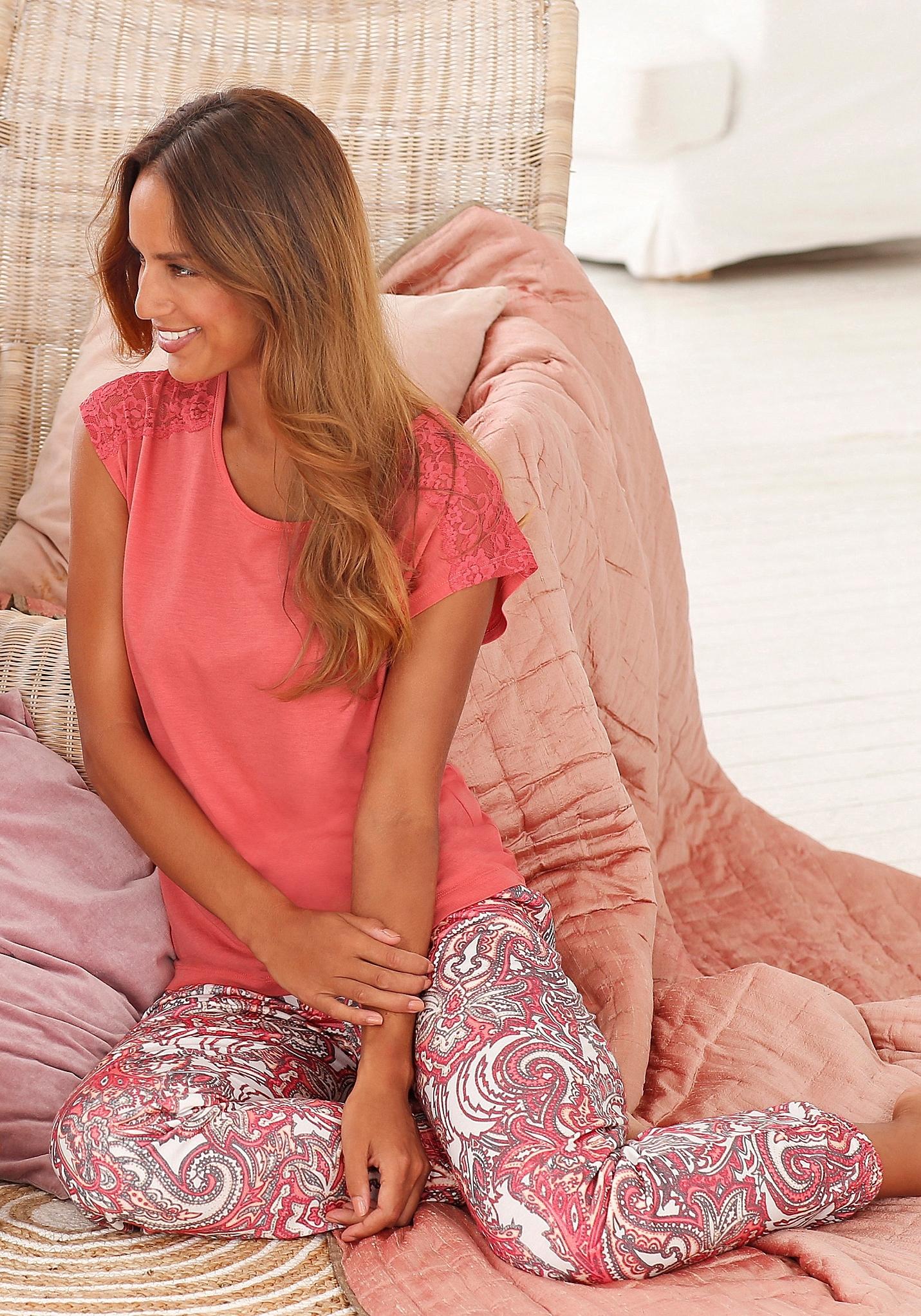 s.Oliver RED LABEL S.OLIVER Pyjama met korte mouwen voordelig en veilig online kopen