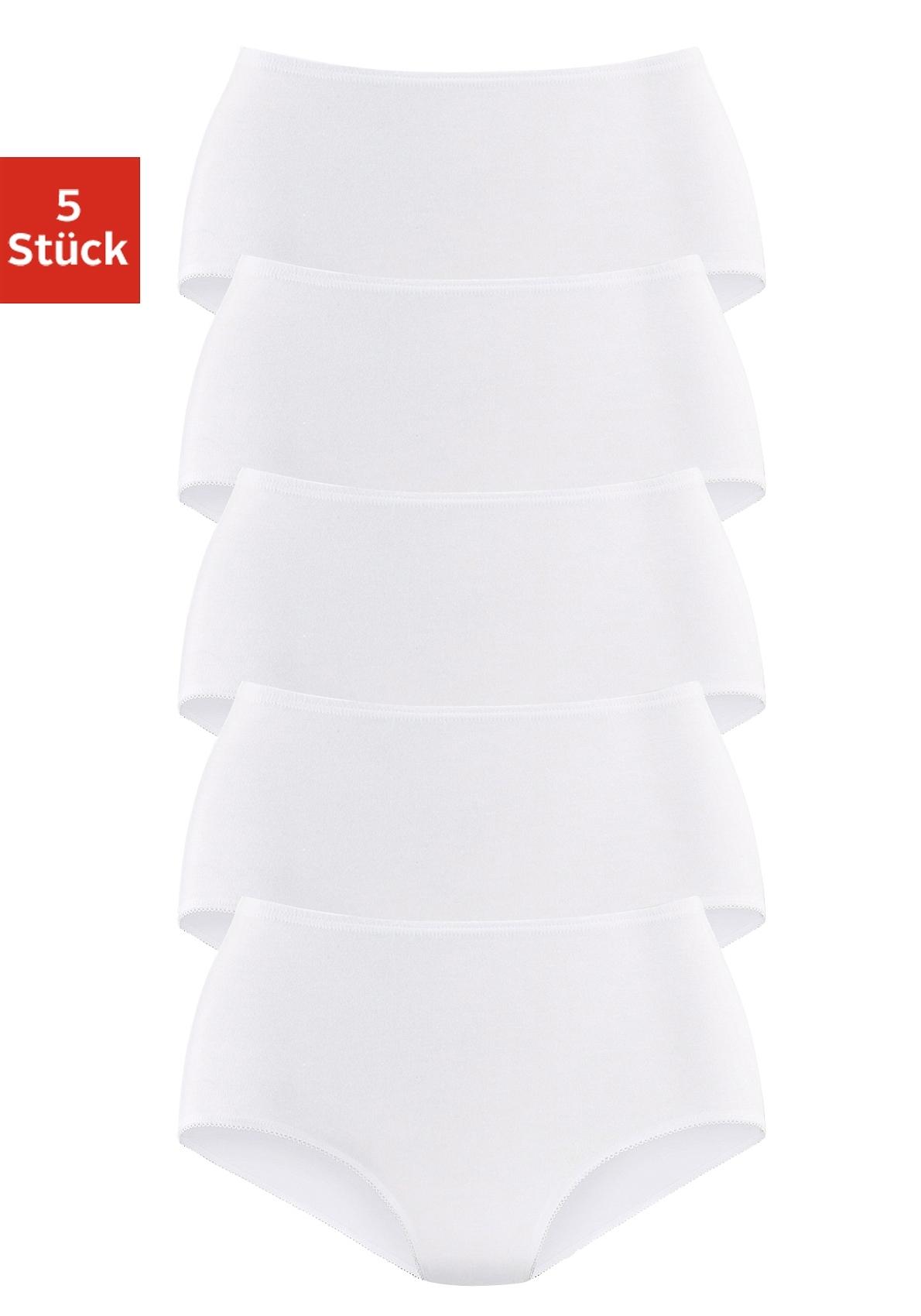 Petite Fleur Tailleslip elastische boord 5 stuks nu online kopen bij Lascana