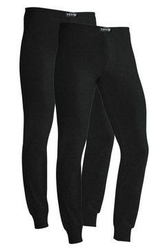 lange onderbroek, set van 2, h.i.s zwart