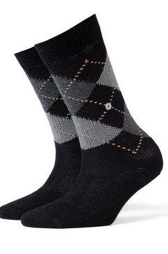 sokken »Whitby« in klassiek argyle-design