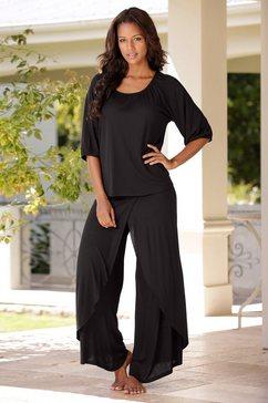 lascana pyjama zwart
