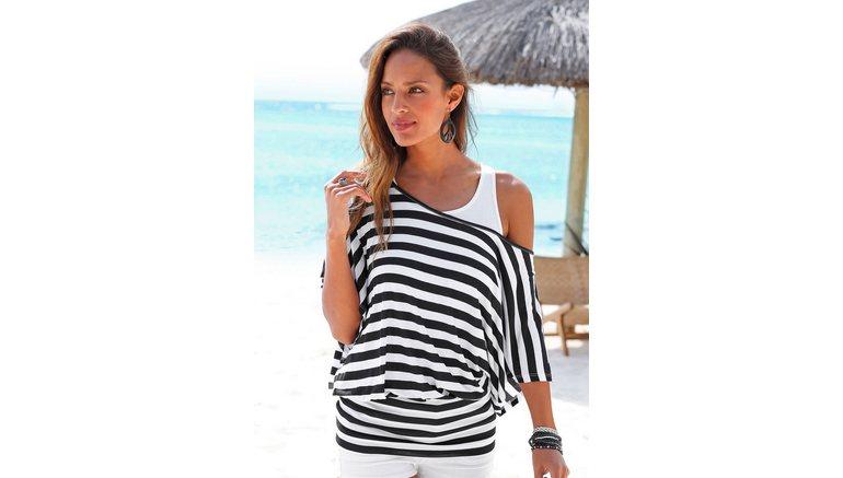 e13f4dcf6fff98 LASCANA 2-in-1-shirt met wijde mouwen bestel je online