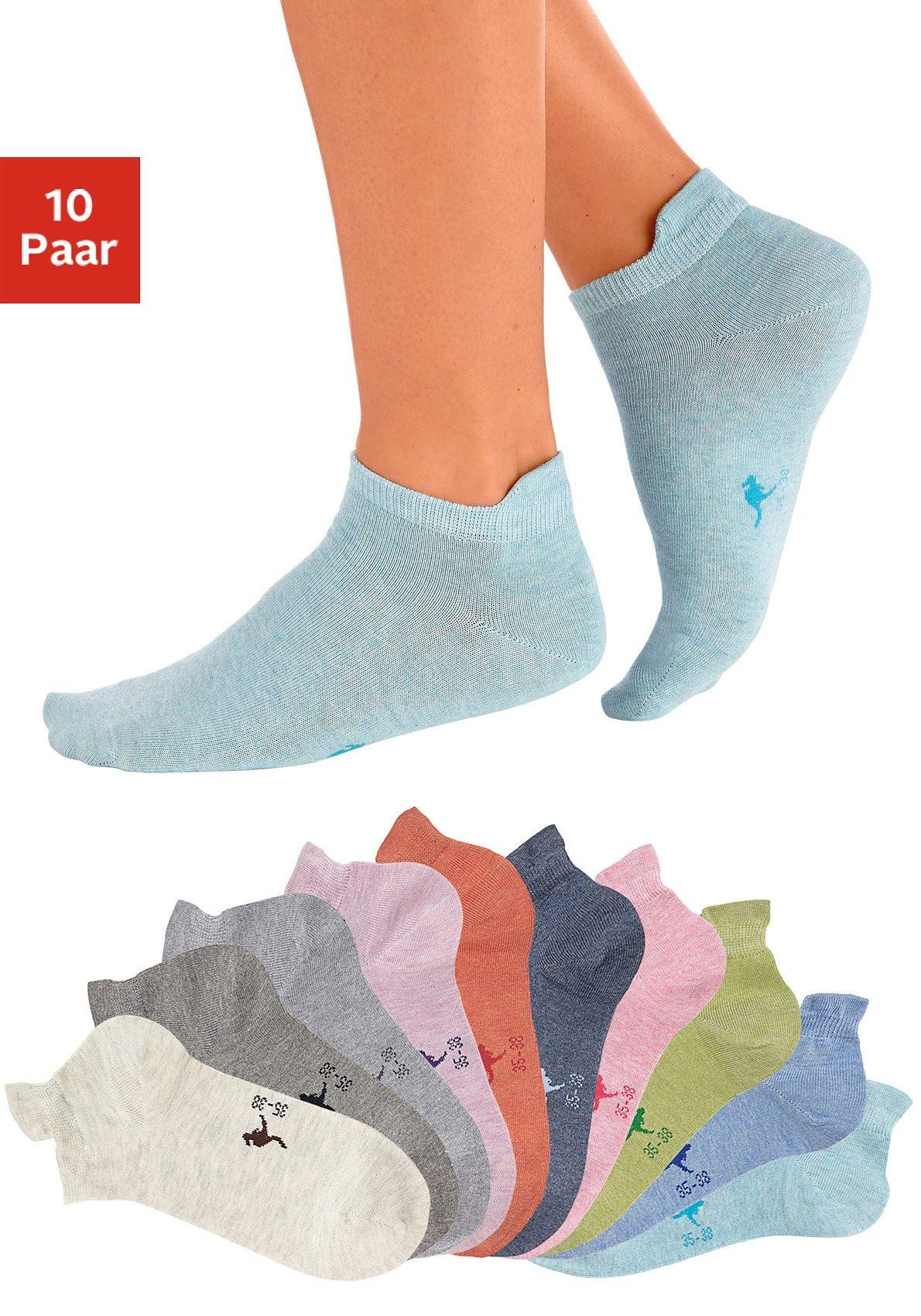 - KANGAROOS Sneaker - sokken 10 paar
